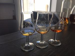 Three Grades of Cognac