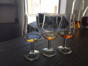 Three Grades of Cognac