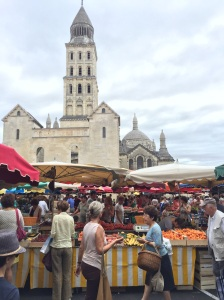 Saturday Market near Saint Front Cathedral